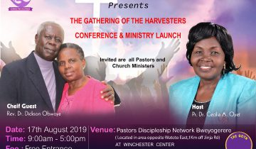 Gathering of Harvesters Conference & Ministry Launch