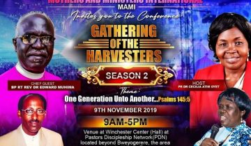 Gathering of Harvesters Season 2 – Nov – 9th – 2019